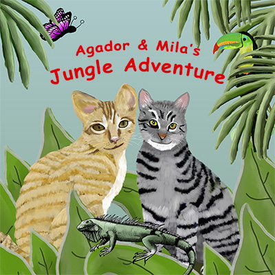 Agador and Mila's jungle Adventure | Children's Picture Book